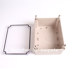 Worth Buying ABS Clear Waterproof Boxes Electrical 150*200*100mm/5.91″*7.87″*3.94″