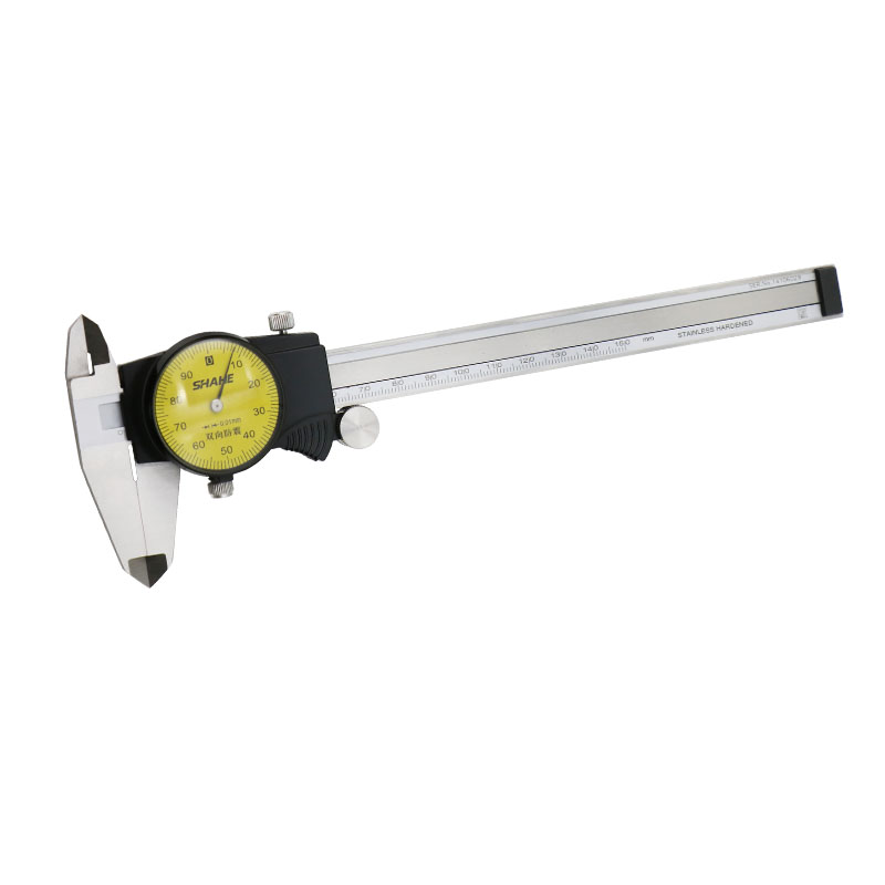 Tools : shahe  0-150 mm Metric Gauge Measuring Tool Dial vernier caliper  Shock-proof Vernier Caliper 0 01 mm
