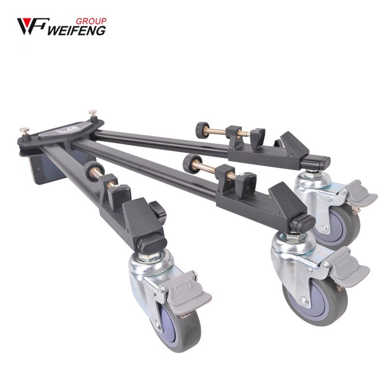 DHL Weifeng WF WT600 Professional Video Camera Camcorder Foldable Tripod Dolly Wheel Wholesale