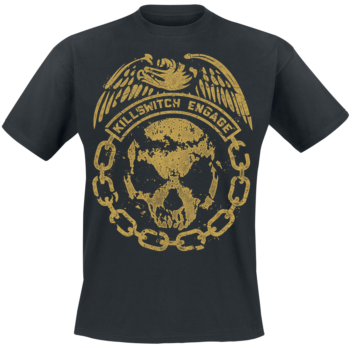 Killswitch Engage Crumble T Shirt black-in T-Shirts from