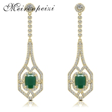 Jewelry Fashion Lady Silver Gold Shining Stone Earrings Accessories Women Girls Elegant Decoration