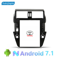 AUTOJIAPIN 12.1 inches Vertical Screen Android 7.1 Car Multimedia player GPS Navi for TOYOTA Prado 2014 2017 with full Touch