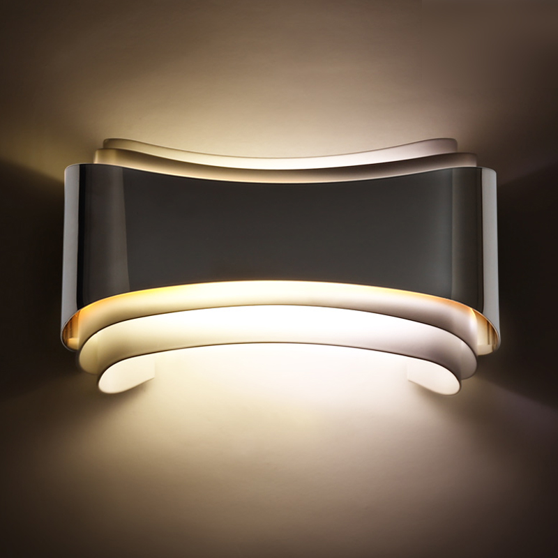 Metal Simple Modern LED Wall Lights For Home Indoor Lighting Beside Lamp LED Stair Lights Arandela Apliques ParedMetal Simple Modern LED Wall Lights For Home Indoor Lighting Beside Lamp LED Stair Lights Arandela Apliques Pared