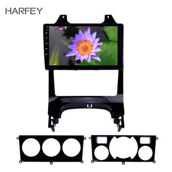 Harfey 9 inch Android 8.1 Car Auto Radio for Peugeot 2008 2009-2012 GPS Navi Car Multimedia player Steering Wheel Control 3G image