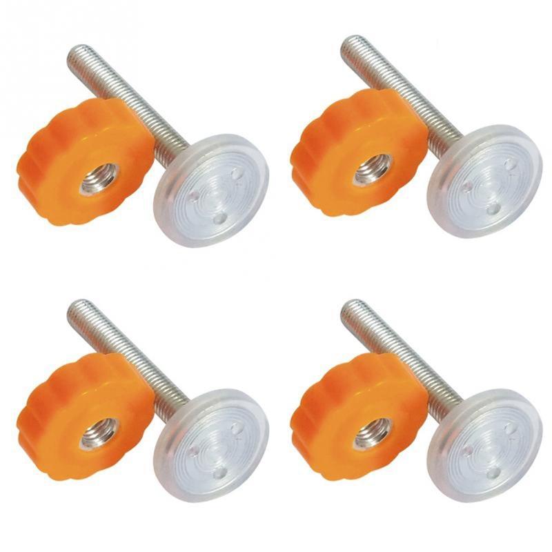 4 шт. давление детские ворота винт резьбовые стержни шпинделя ходьбы через ворота аксессуар-M10x10 мм