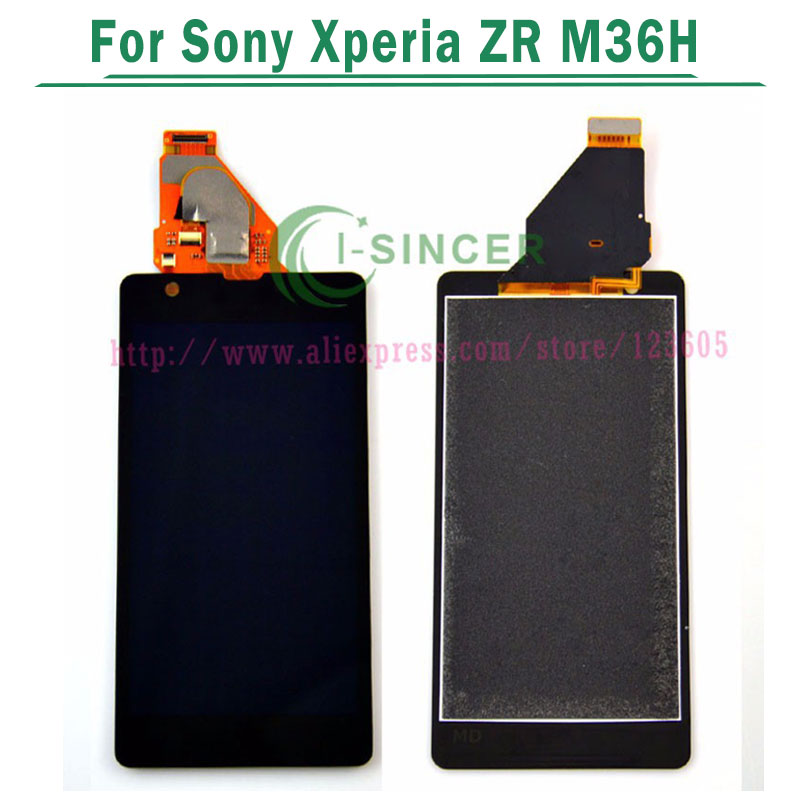 For Sony Xperia ZR M36h M36 C5503 C5502 LCD Screen and Touch Digitizer Assembly complete display