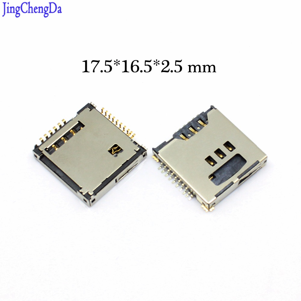 JCD New For Samsung Galaxy S5230 S5233 S5230C S3930 W589 F488E M628 SIM Memory SD TF Card Tray Slot Holder Connector