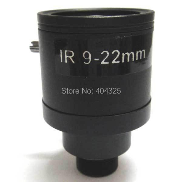 Mini 1/3'' 9-22mm Manual Zoom Manual Focus MTV Lens F1.4 for CCTV Security Camera удлинитель zoom ecm 3
