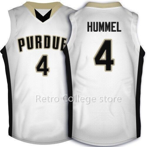 purdue boilermakers college 4 robbie hummel throwback basketball jersey authentic stitched logos robbie hummel