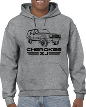 2019 New Summer Men Hot Sale Fashion Jeep Cherokee XJ MJ Off Road 4X4 SUV 4.0 4WD Custom Hoodies Sweatshirt bruno rossi s66 blu