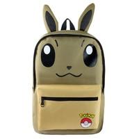 Pokemon Haunter Eevee Cartoon Student Canvas Printed School Bag Work Bags Men Women Travel Softback Backpacks