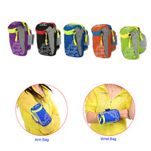Running Bag Arm Wrist Band Hand Sport Mobile Phone Case For iPhone 6 Plus 6.0″ Smartphone Hand Accessory Waterproof Wallet Pouch
