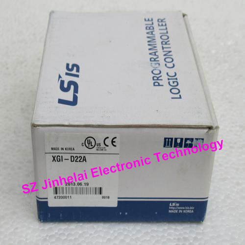 New and original XGI-D22A LS PLC Input unit, DC24V Input 16 points, (Sink/Source) new and original dvp16sm11n delta plc extension module 16 points input