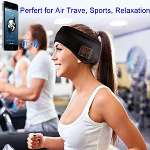 Wireless Bluetooth Stereo Headphones Running Earphone Sleep Headset Sports Sleeping Music Headband JOY Fashion 3