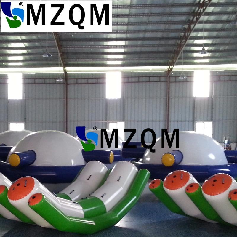 MZQM 3X2.1m  air sealed 0.9mm pvc tarpaulin inflatable Seesaw inflatable rocker, inflatable seasaw rocker for water sportsMZQM 3X2.1m  air sealed 0.9mm pvc tarpaulin inflatable Seesaw inflatable rocker, inflatable seasaw rocker for water sports
