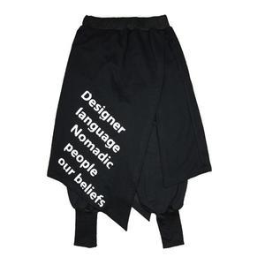 Image 4 - Nova Hop calças homens maré personalidade culottes Falso dois saia calça casual calças hairstylist boate DJ estágio cantor trajes