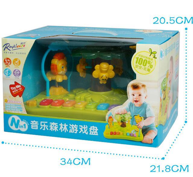 Musique éducatif apprentissage Animal clavier développement enfant musique jouet pour bébé Mini Piano jouet - 6