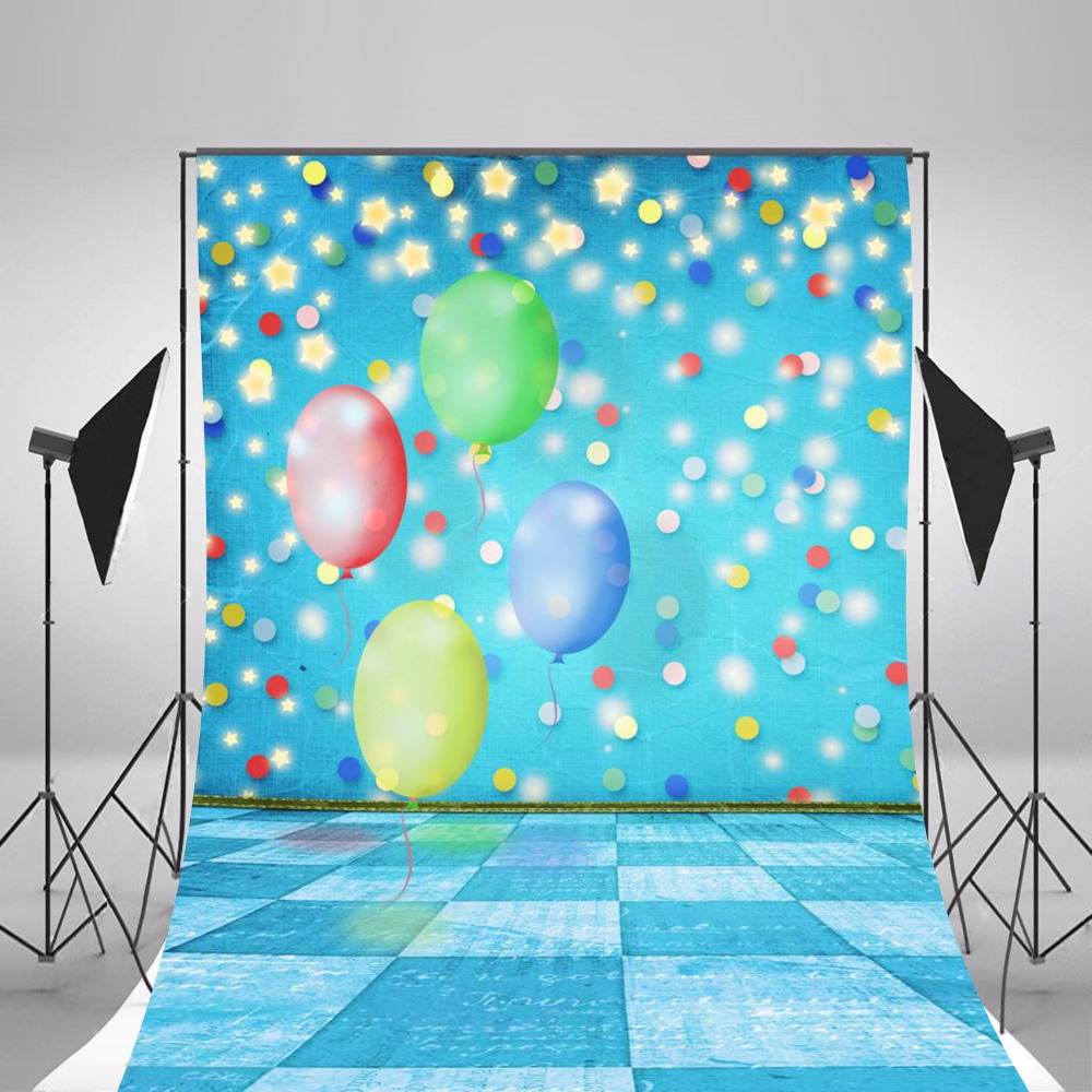 2017 Hot Blue Balloon Fotografier Bakgrunder Foto Bakgrunder Kamera - Kamera och foto