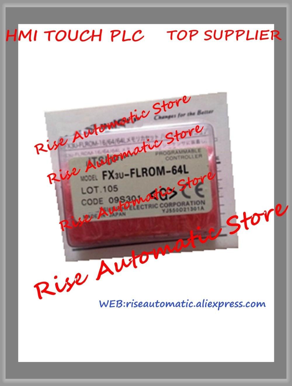 New Original Programmable Logic Controller FX3U-FLROM-64L PLC Memory Cassette plc memory cassette fx3u flrom 16 new original well tested working three months warranty