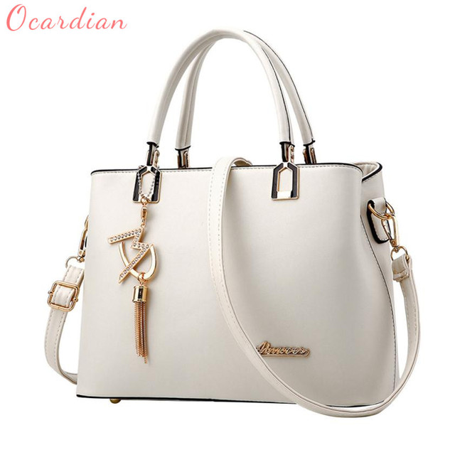 8ff7a4651f7 US $15.25 47% OFF|Ocardian 2018 New Hot Sale Popular Fashion Women handbags  ladies bag simple handbag High Quality bag C0111-in Shoulder Bags from ...