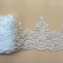 9Yards Car Bone Guipure Wedding Lace Trim Sewing Accessories French Chantilly Appliques DIY Craft Decoration 2019