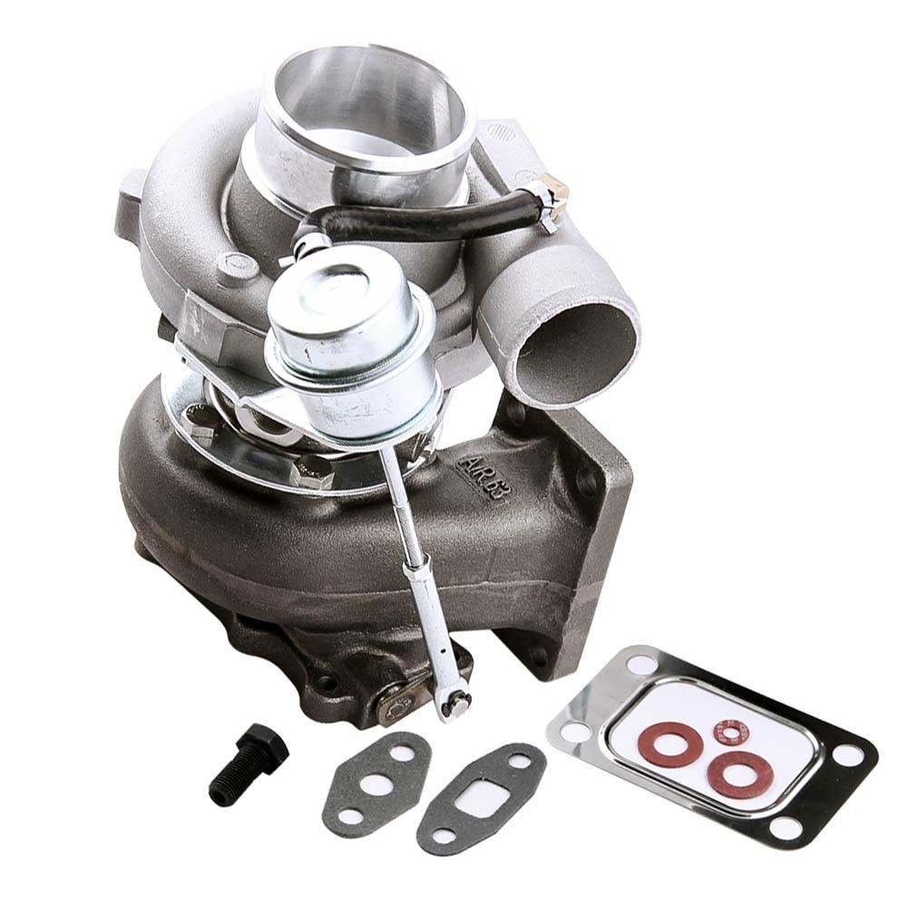 TCT turbo chargeur pour Nissan Skyline 2.0L-2.5L RB20DET RB25DET 430BHP Eau + Huile Froide R32 R33 R34 RB25 RB20 2.0L 2.5L