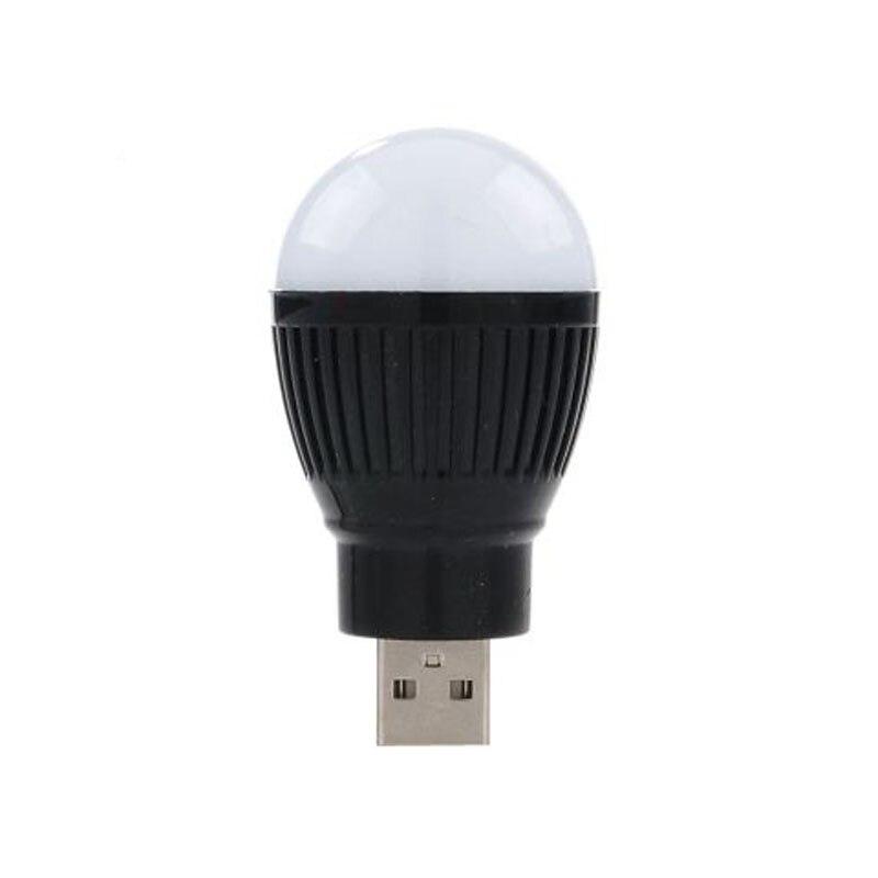 'The Best' Newest Mini USB LED Light Portable 5V 5W Energy Saving Ball Lamp Bulb For Laptop USB Socket 889