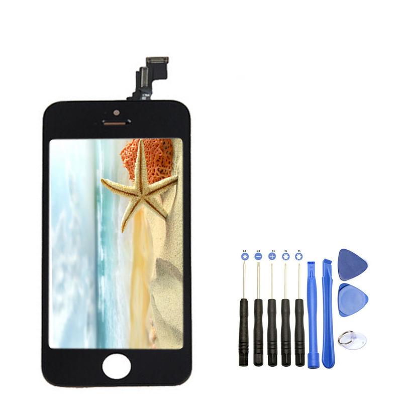 Onecell High Quality LCD Display With Touch Screen Digitizer Assembly With Opening Tool For Iphone 5C