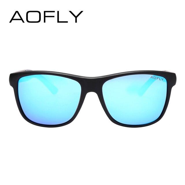 AOFLY Polarized Sunglasses Men Women Original Brand Designer Polaroid Reflective Mirror Sun Glasses Unisex Goggle gafas de sol 2