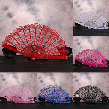 Ventilador Plegable de estilo chino Vintage con flores, Ventilador Plegable, Ventilador Plegable...