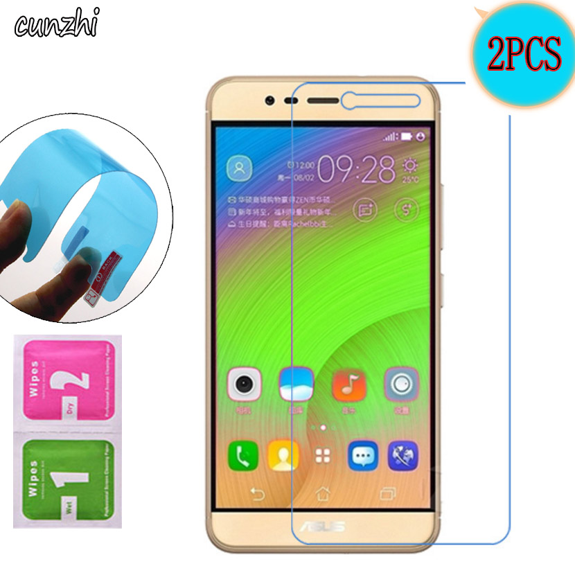 2PCS Ultra Clear Nano Explosion proof <font><b>Screen</b></font> Protector For <font><b>Asus</b></font> <font><b>Zenfone</b></font> <font><b>Pegasus</b></font> <font><b>3</b></font> <font><b>X008</b></font> (5.2 inch) Protective Mobile Phone Film image