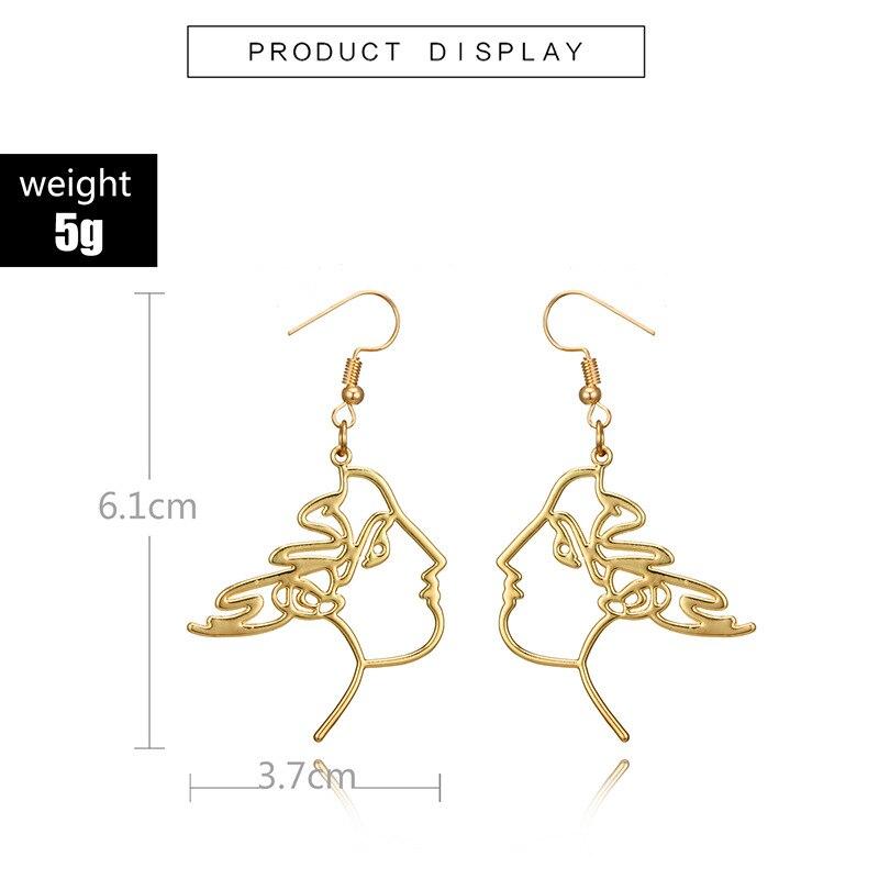 f4a0748ea490d 2018 Fashion statement earrings ball Geometric Long earrings For Women  Hanging Dangle Earrings Drop Earing modern JewelryUSD 1.99 pair