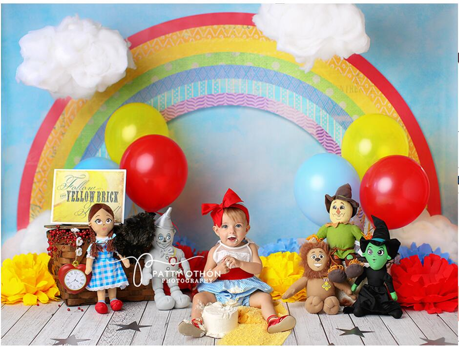 Theme Children Background Style Studio Photography Baby Vinyl Backdrops Customized Photo Studios  YMM-002 leosport prestashop theme