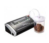 Маленькая портативная Бытовая вакуум закаточная машина домашняя вакуумная машина для еды