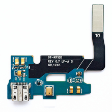 5pcs/lot New USB Charging Dock Flex Cable For Samsung Galaxy Note 2 N7100 Charger Port Connector Board Replacement Parts