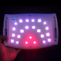 48W Dual LED lamp Dryer Gel Polish Curing lamp Ith Bottom Timer LCD Display LED lamp