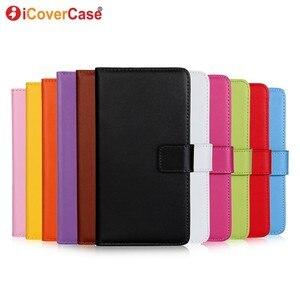 Image 1 - Etui portefeuille en cuir pour Samsung Galaxy S8 Etui Funda Coque de luxe Capa Coque arrière pour Samsung S8 Plus étuis de téléphone avec fente pour carte
