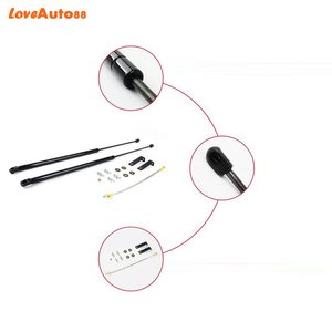 Image 5 - Car Styling 2PCS For Hilux Revo 2016 2017 2018 2019  Front Hood Engine Cover Hydraulic Rod Strut Spring Shock Bar
