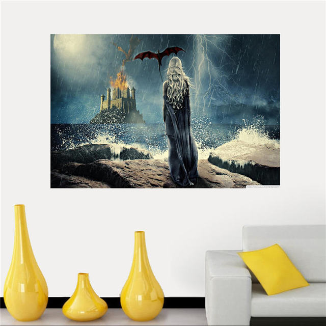 Silk Game of Thrones Canvas Poster