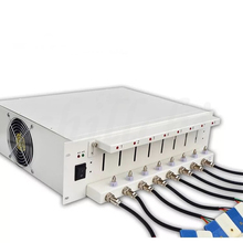 5V6A 8 canal gabinete capacidade testador de bateria 18650 bateria de polímero de lítio detector de carga e descarga de envelhecimento do armário