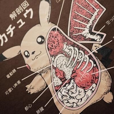 Nuevo Pokemon Pikachu de la historieta camisetas de hombres y ...