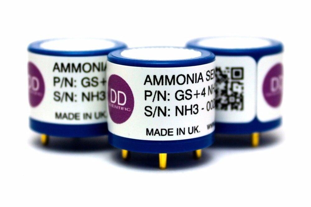 Pour capteur d'ammoniac DD série 4 GS + 4NH3-1000 NH3 capteur de gaz ammoniacal à détection électrochimique de qualité de l'air