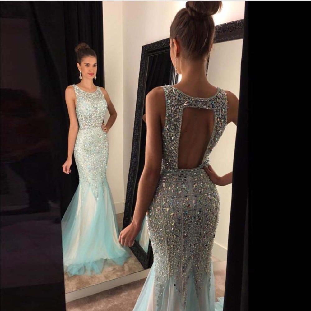 a3e63f1a06984 US $189.0 |Gorgeous Prom Dresses Mermaid Long 2016 Bead Prom Dress Vestido  De Festa Formal Gowns vestidos do baile de finalistas-in Prom Dresses from  ...