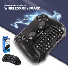 Gamepad keyboard Fit For PlayStation 4 Console USB Wireless Bluetooth  Multifunction Alphabet