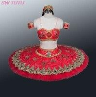 ירוק אדום הערבי נשים חצאיות טוטו לבלט מקצועיים בלט טוטו לנערות טוטו לבלט קלאסי saleBT8982