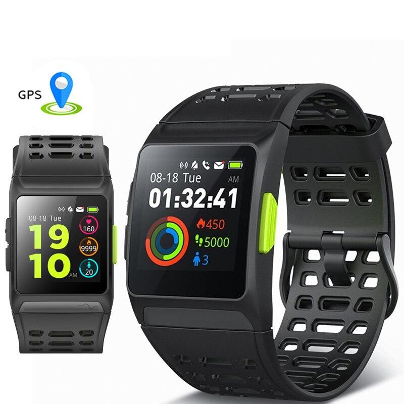 IP1 Sports GPS Watch Smart Watch IP67 Waterproof Color Screen Multisport Wristwatch Men Strava Fitness Watch Smartwatch