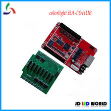 Colorlight i5A-F (substitua A8) Síncrona e assíncrona dupla modelo de vídeo full color levou controlador de tela que recebe o cartão