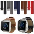 Leather Strap For Fitbit Blaze, Smart Fitness Watch Band Replacement Black Blue Grey Brown Fit bit Blaze Watch Strap