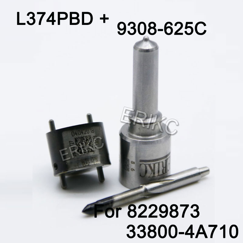 ERIKC Fuel Injector Repair Kit Sets 7135 573 Include Valve 9308 625C Nozzle L374PBD for Injector