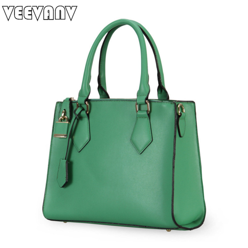 VEEVANV High Quality Leather Women Handbag Messenger Bag Designer Lock Ladies Tote Handbags Female Shoulder Bags Crossbody Bags 2016 spring and summer hole jeans women female loose denim pants female harlan nine pants plus size s 5xl